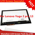 "Envío de la nueva 13.3 ""para lenovo ideapad yoga 2 pro 13 pantalla táctil + pantalla lcd ltn133yl01-l01 (3200*1800)"