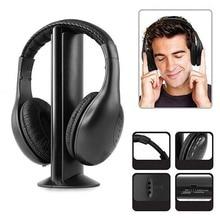 Big discount DOITOP Wireless Headphones For Xiaomi Iphone Samsung DVD TV MP3 Sport Running Earphone FM signal transmitter Headset headphone