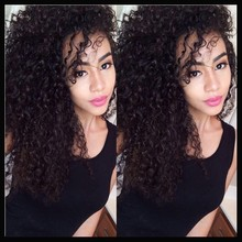 130 Density Culy Wig Full Lace Wig Virgin Brazilian Hair Curly Lace Front Wig Glueless Full Lace Human hair Wigs For Black Women