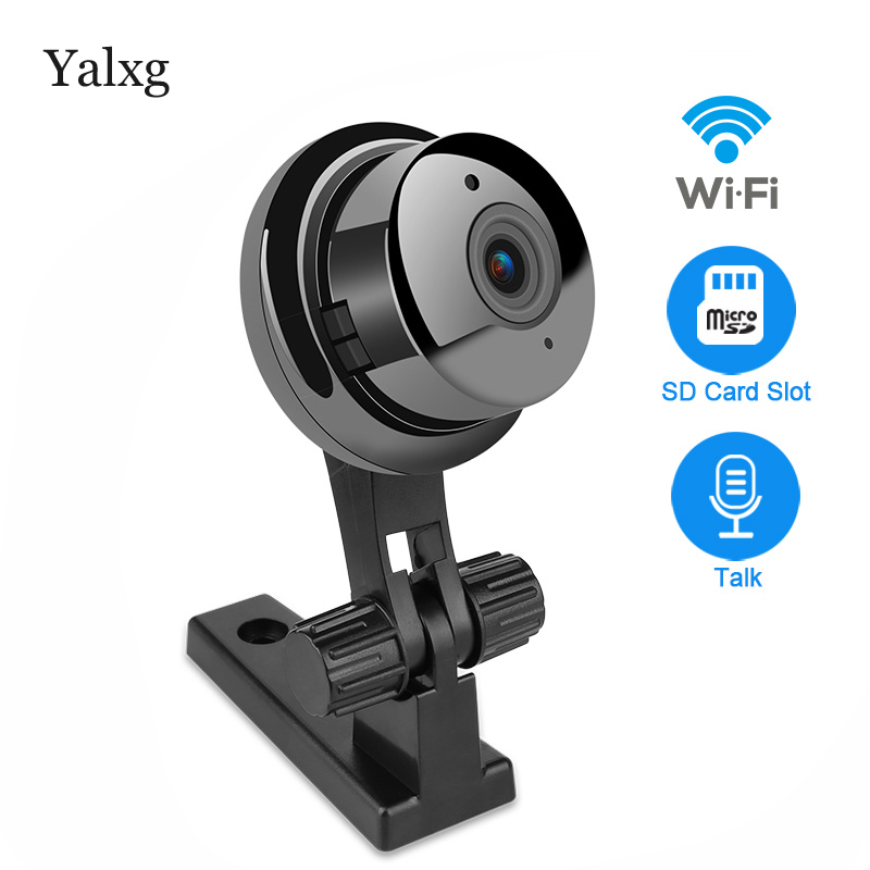 Mini HD Wifi IP Camera 720P Wireless ONVIF P2P Two-way Audio Motion Detection Email Photoes Infrared Night Vision Security Cam smart mini camera wifi support two way audio night vision sd card onvif motion detect camera with wifi for home security