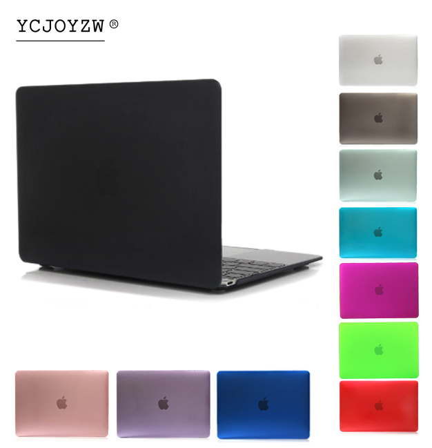 YCJOYZW Laptop Case For Apple MacBook Air Pro Retina 11 12 13 15 for mac book 2016 2017 New Pro 13 15 inch with Touch Bar new laptop case cover for apple macbook air pro retina 11 12 13 3 15 for pro 13 15 inch with touch bar screen film dust plug