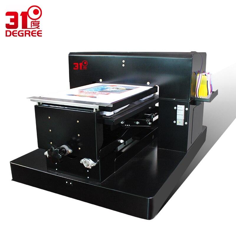 UV À Plat Imprimante Textile Machine Vêtements T-shirt Machine D'impression vêtements avec Encre Textile