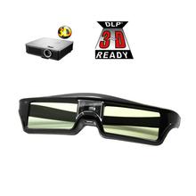 Aktywne okulary 3D dlp-link do projektorów BenQ Z4 H1 G1 P1 LG NUTS Acer Optoma DLP-LINK tanie tanio nanoq Brak Lornetka Nie-Wciągające Migawki KX-30 none Okulary Tylko Pakiet 1 Active shutter glasses DLP-Link 3D Projector