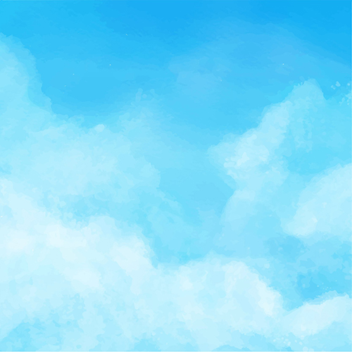 Blue Sky White Clouds Theme Photography Backgrounds Vinyl cloth High quality Computer printed wall backdrop