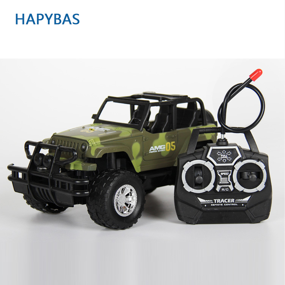 RC Jeep 1/22 Drift Speed Radio SUV camouflage military Remote control Off Road vehicle Steering wheel RC Jeep vehicle Car Toy image