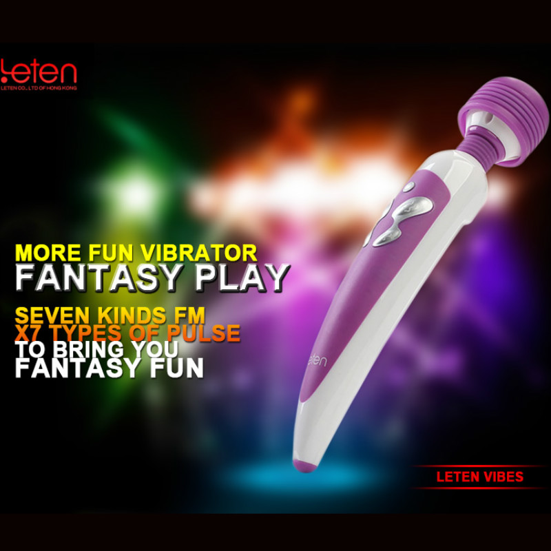 Sex Product Vibrator Sex Toy For Woman Large Vibrators Strong Waterproof Fashion Modeling Silicone Stimulation Wand CE01008