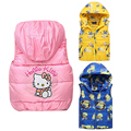 Girls Boys Clothes Children Outerwear Clothing  Baby Girl Cotton Padded Vest Winter Autumn Kids Girls Clothes Children Clothes