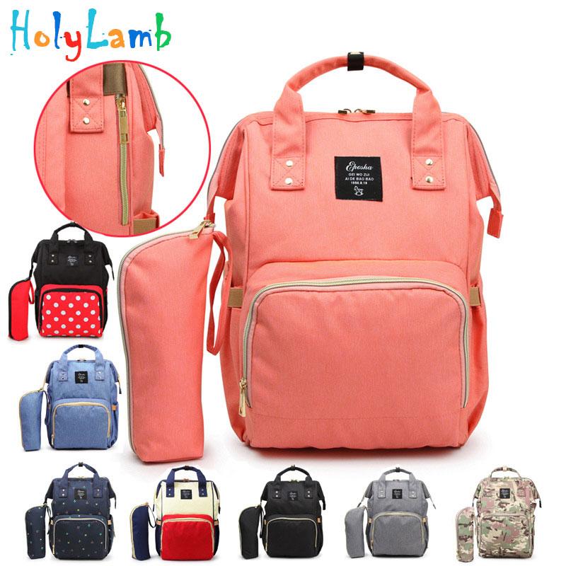 11.11 Large Capacity Maternal Diaper Bag Baby Stroller Carriage Bags Mummy Nursing Care Organizer Backpack Travel Handbag