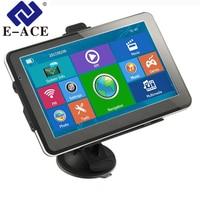 E ACE 7 Inch HD Car GPS Navigation FM 128M 8GB 800MHZ SAT NAV Navitel Russia