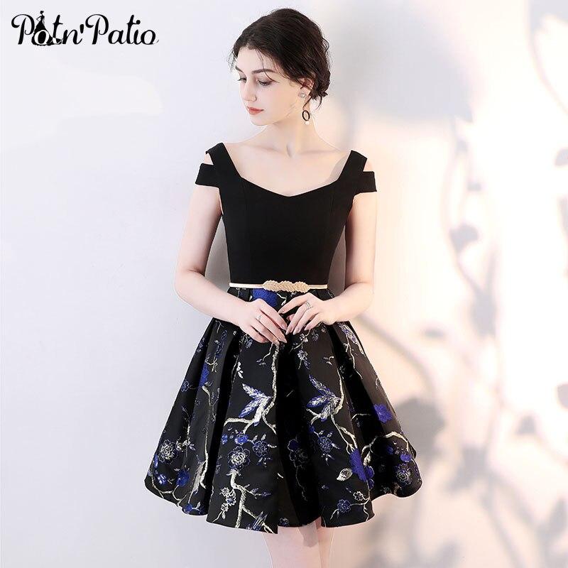 Elegant Sleeveless Cocktail Dresses 2018 New Little Black Dresses