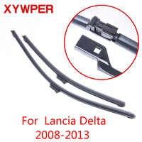 XYWPER Wischerblätter für Lancia Delta 2008 2009 2010 2011 2012 2013 Auto Zubehör Soft Rubber scheibenwischer