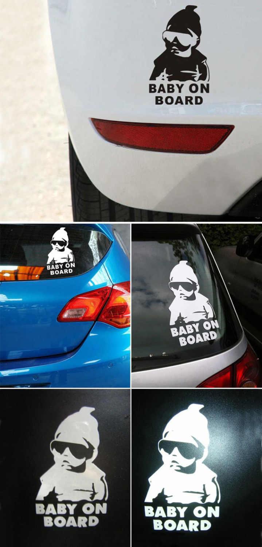 Fashion Lovely Baby On Board car sticker For SEAT Leon Ibiza CUPTRA Altea Alhambra TOLEDO LEON 3