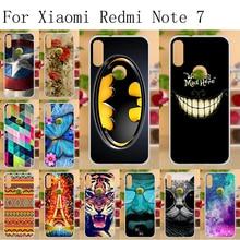 6.3 TPU Cases For Xiaomi Redmi Note 7 Case Luxury Soft Silicone Phone Cover Xiomi Note7 Funda Bumper Bags Shell Skin