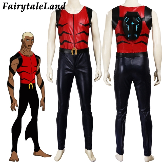 young justice aqualad cosplay costume carnival halloween costumes
