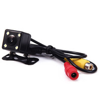 2017 Promotion HD CCD 4 LED Night Vision Rear View Camera 170 Wide Angle Reverse Rearview