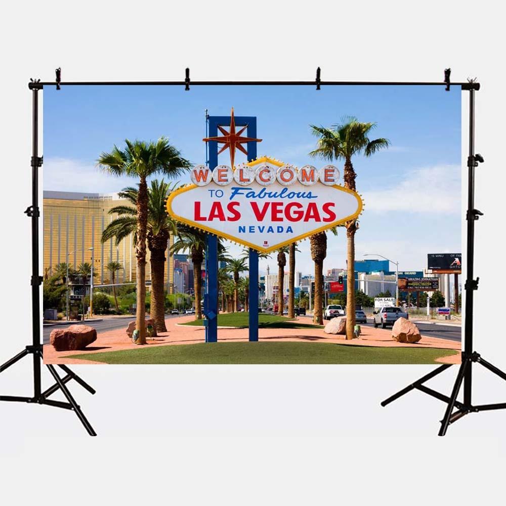 Mehofoto Photography Backdrops Las Vegas Girls Birthday Background for Photographers Studio Kids Birthday Theme Party G-163