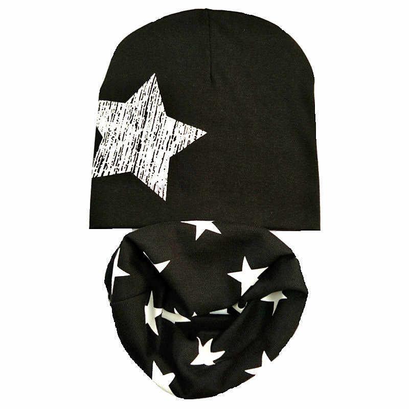 Otoño invierno Crochet niños sombreros niña niño gorros niños sombrero bufanda collares, gorros infantiles invierno