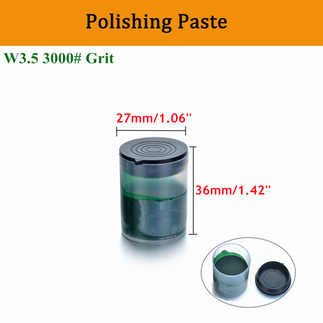 1pc Metal Polishing Paste Chromium Oxide W3.5 3000# Grit Green Abrasive Grinding Paste for Polishing Wheel Electric Grinder Tool
