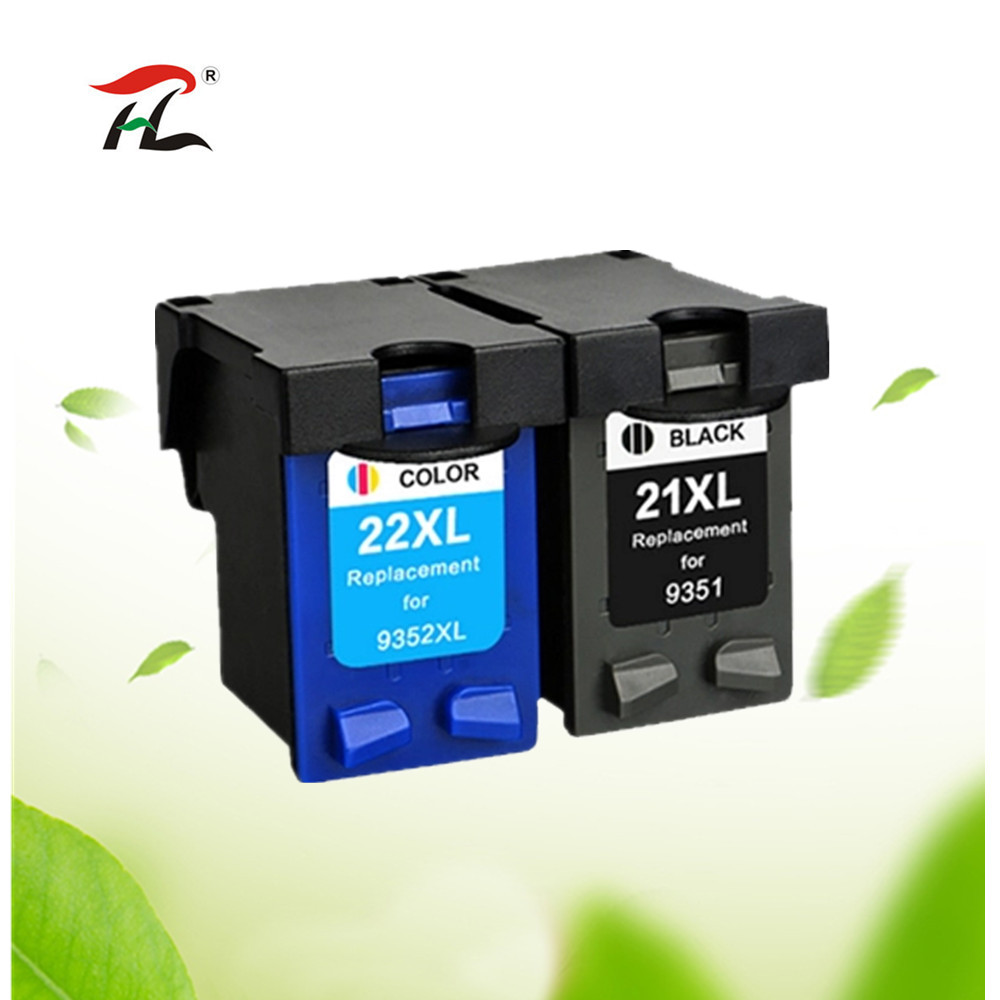 Yi Le Cai Compatible Cartucho De Tinta Rellenados Para Hp 21 22 21xl 22xl Impresora Deskjet 3915 3920 D1320 F2100 F2280 F4180