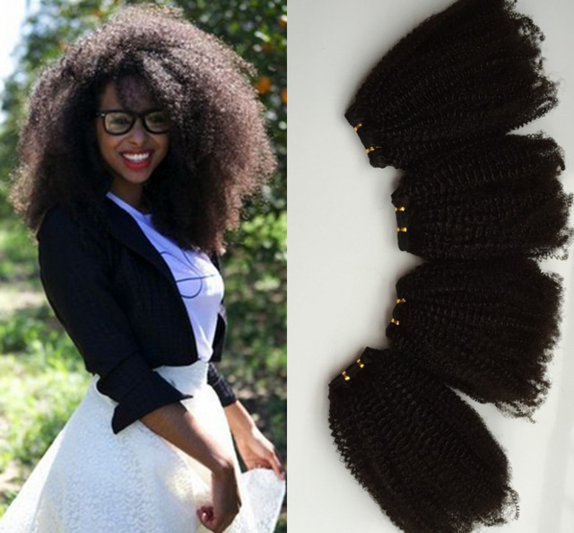 10a Interlove Hair Products Mongolian Kinky Curly Hair Extensions