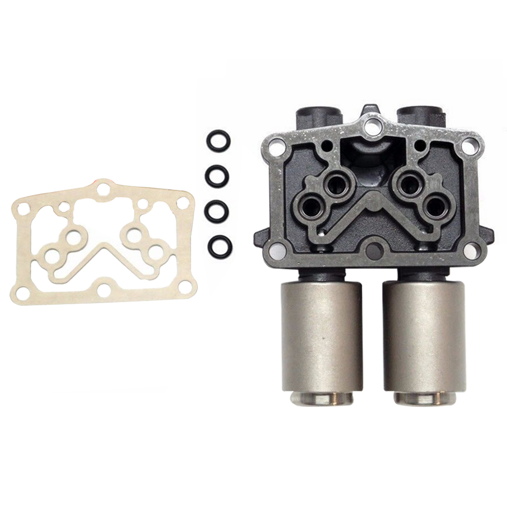New Solenoid Assy Transmission Dual Linear Solenoid For Honda Civic 2006-2011 OE 28260RPC004   28260-RPC-004 QP0321 oem idle speed air control iac valve 36450 p08 004 for 92 95 honda civic 1 5l l4