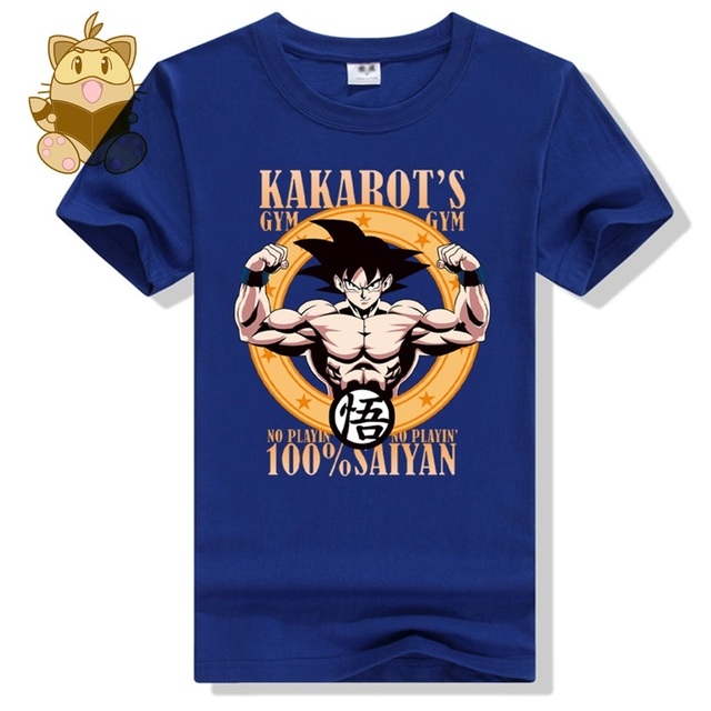 dragon ball Z tee shirts KAKAROT GOKU printing new t shirt men's cotton tee shirt ac434