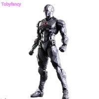 Homem de ferro Jogo Arts Kai Prata Ver. Figura de Ação vingadores Ironman PVC Toy 25 cm Anime Playarts Kai Filme Homem de Ferro Boneca de Super-heróis