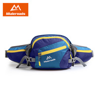 Maleroads Waterproof Water Bottle Fanny Pack Sport Running Cycling Waist Bags Outdoor Camping Hiking Bum Bags For Men Women 2018