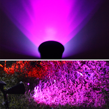 T-SUNRISE Solar Spotlight Adjustable Solar Powered Lamp 4/7 LED In-Ground Light Waterproof Landscape Wall Light Outdoor Garden