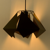 Retro industry personality pendant lights wine shop modern minimalist Lolita dining room pendant lamps diamond lamp GY304