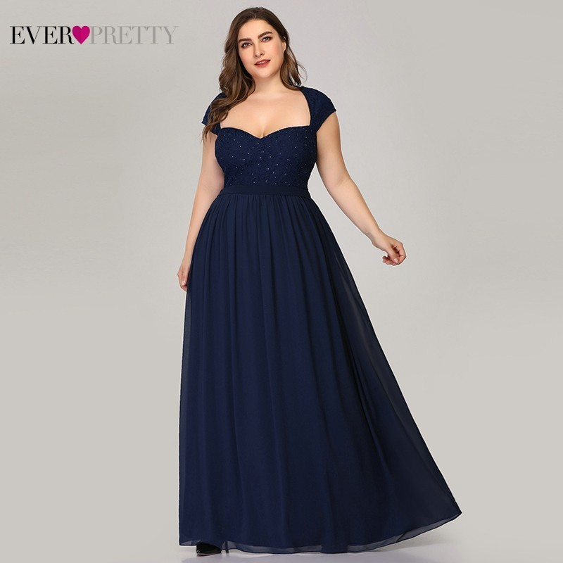 Plus Size Elegant Mother Of The Bride Dresses Ever Pretty EZ07949 Sweetheart Beaded Farsali Lace Mother Dresses Vestido Madrina in Mother of the Bride Dresses from Weddings Events
