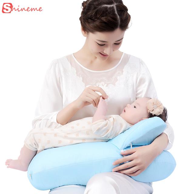 2017 U-Em Forma de Maternidade amamentação travesseiro para newbron alimentação do bebê do algodão almofada de apoio da cintura travesseiro de enfermagem proteger múmia