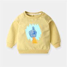 New Infant Baby Boys Roupas Hoodies Print Sweatshirt Children's Pullover Outerwear Autumn Spring Baby Boys Fashion Tops T-shirt autumn spring velvet striped soccer letter print baby boys sweat shirt tee kids tshirt children fashion tops boys sweatshirt