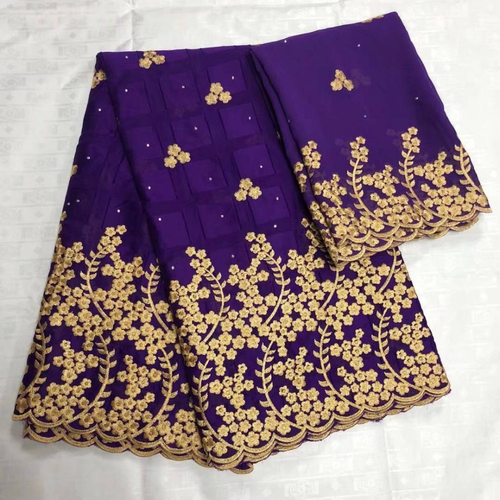 Fashion New design embroidery purple cotton lace fabric with stones hot selling new design 2018 fashion cotton lace fabricFashion New design embroidery purple cotton lace fabric with stones hot selling new design 2018 fashion cotton lace fabric