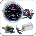 "2"" 52MM Universal Oil Pressure Car Gauge 0-100PSI  Meter Auto White LED"