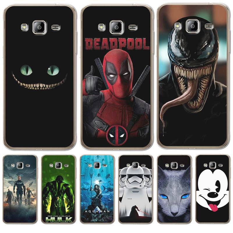 Deadpool Marvel cartoon For Samsung Galaxy J3 J4 J5 J6 J7 J8 Plus ...