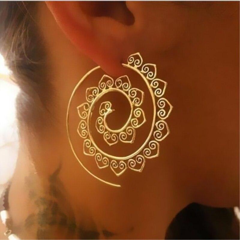 2018-New-Fashion-Swirl-Drop-Earrings-Gypsy-Tribal-Spiral-Ethic-Dangle-Earrings-Boho-Earrings-for-Women (1)