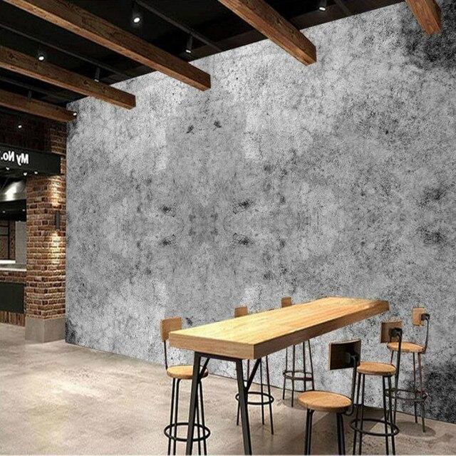 3d behang voor muren home improvement moderne behang for Industriele muur