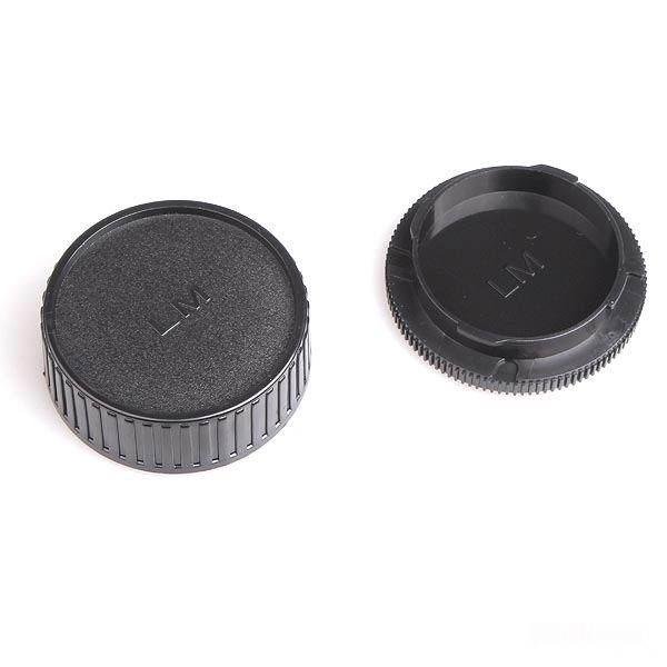 10Pairs Camera Lens Body Cover + Rear Lens Cap Hood Protector for Leica M LM Camera M6 M7 M8 M9 M5 M4 M3 SLR Camera and Lens