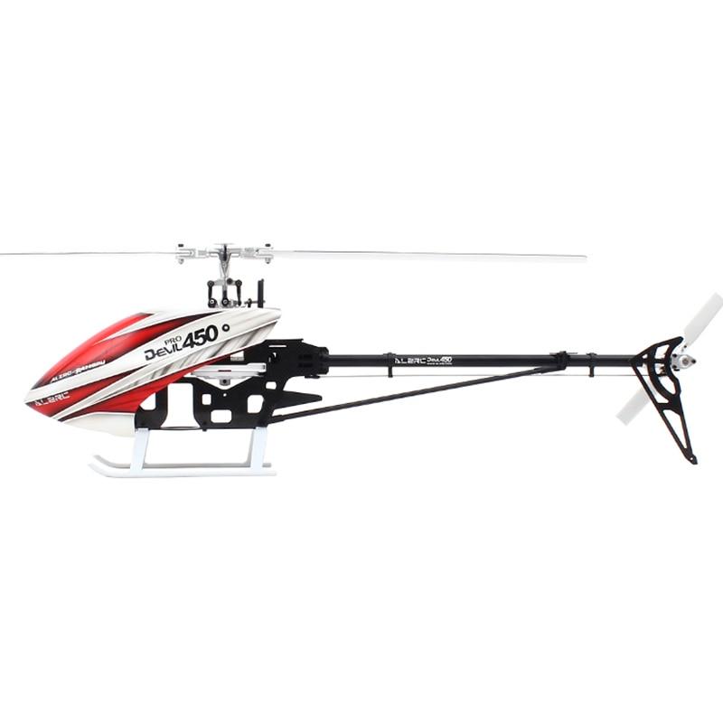ALZRC - Devil 450 Pro V2 FBL KIT - Silver - Standard alzrc 450 helicopter devil 450 pro v2 fbl kit silver