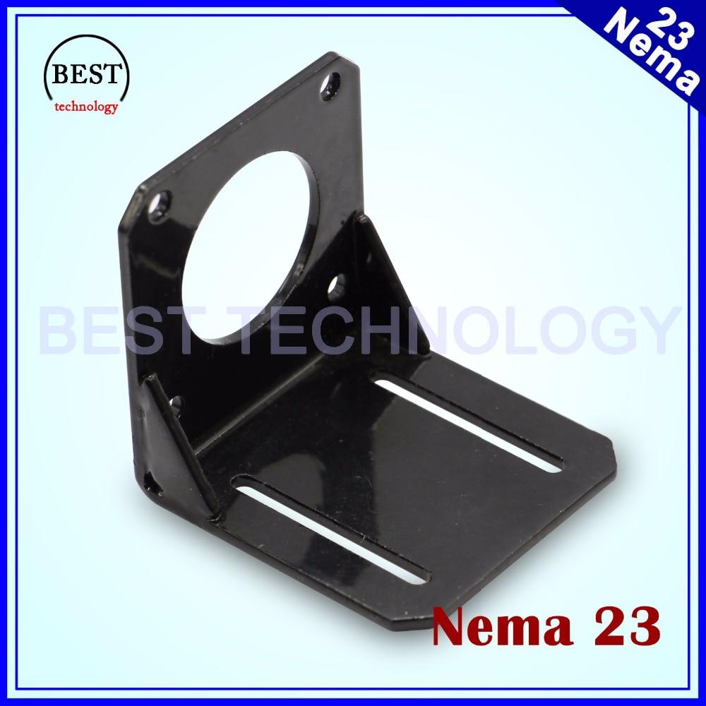 NEMA 23 57 Steppr Motor Accessories Bracket Support Shelf Mounting L Bracket Mount Step Stepping Stepper Motor