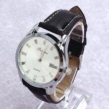 Men s Luxury Sport Analog Quartz Stainless Leather Watches Wrist Watch Gift C
