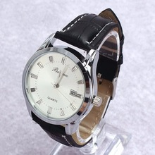 hot sale Men's Luxury Sport Analog Quartz Stainless Leather Watches Wrist Watch Gift C цены онлайн