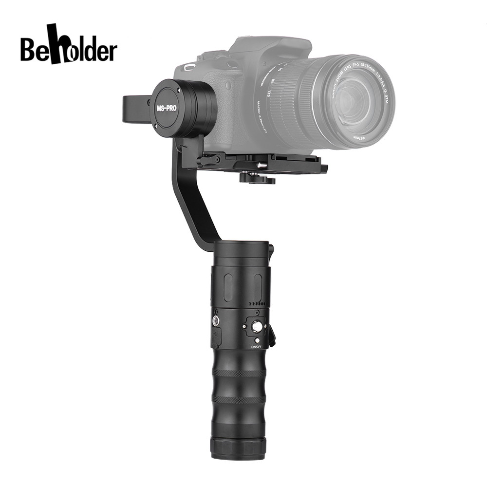 Beholder MS PRO MS PRO 3 Axis Handheld 360 Degree Camera Gimbal stabilizer for Mirrorless Camera