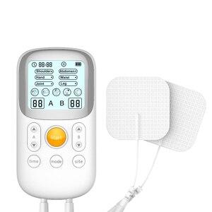 Image 3 - JUMPER onlarca fizik tedavi cihazı sağlık elektrot pedleri darbe servikal boyun masajı akupunktur stimülatörü tel kas