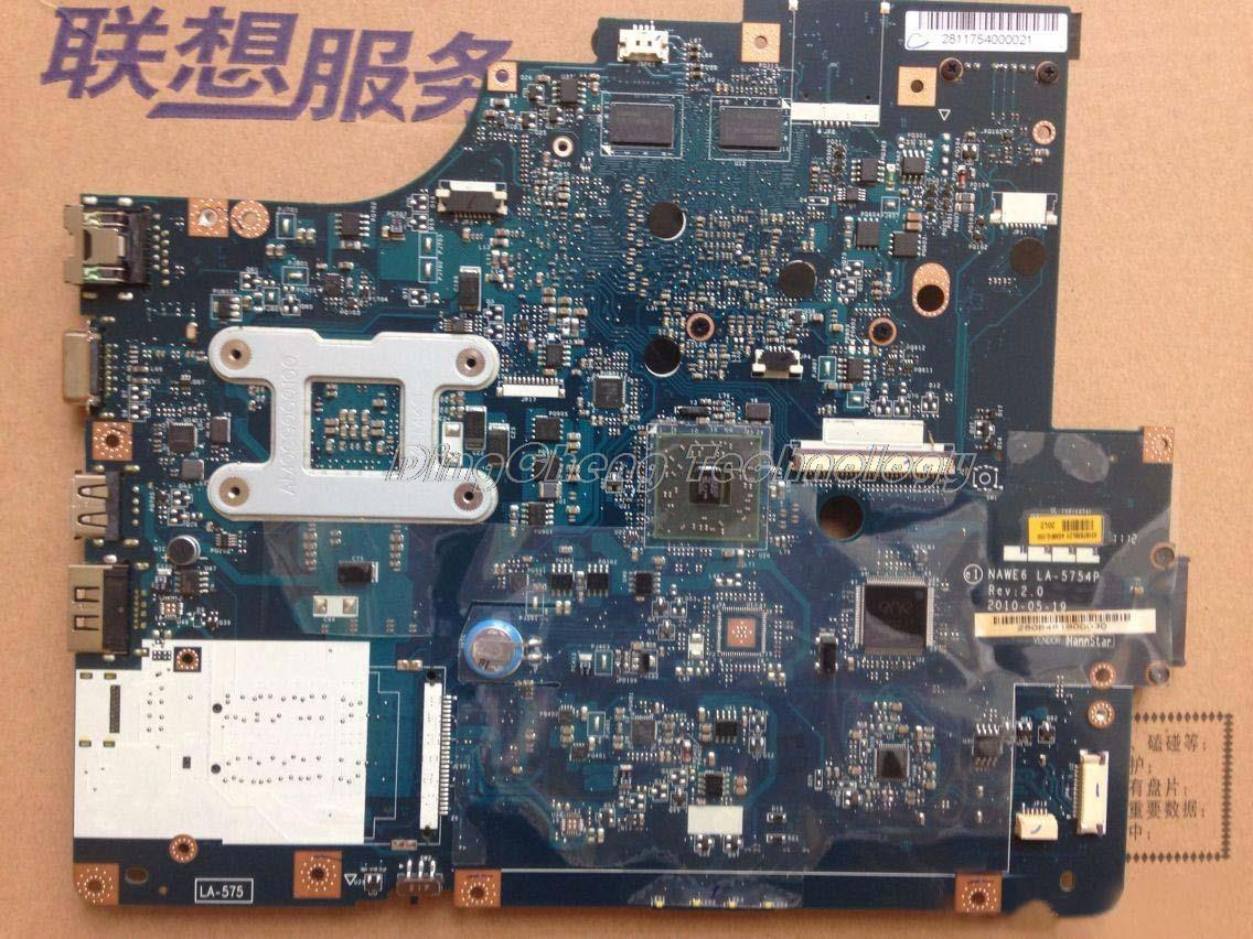 SHELI laptop Motherboard for Lenovo G565 Z565 LA-5754P with 4 video chips non-integrated graphics card REV 2.0