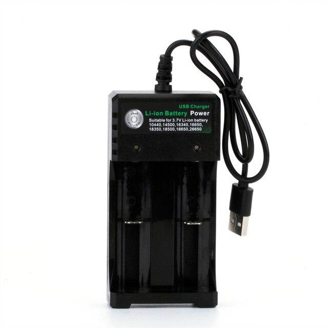 Cuộn dây Cha 2A 3.7 v 18650 Đơn/Kép Battery Charger Cho Li-Ion Pin 16650 18650 14500 26650 18350 Lithium pin