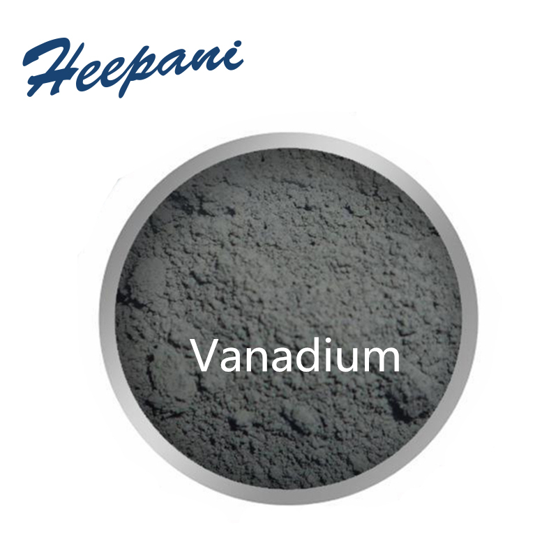 Free Shipping Ultrafine Vanadium With 99.9% Purity V Metal Material Powder For Carbide Additive