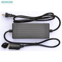 120w Power Convert Ac 220v To 240v/110v Input Dc 12v 10a Output Adapter Car Power Supply Cigarette Lighter Converter Us Eu Plug