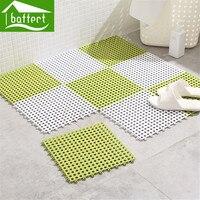 4pcs Lot DIY Splice Shower Mat Anti Slip Bathroom Tub Mosaic Splice Puzzle Pad Square Massage
